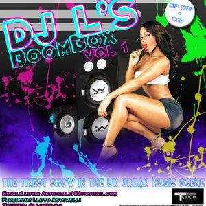 BOOMBOX Vol 1  (DJ L's) Mix CD