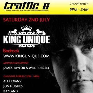 King Unique @ Traffic 02.07.11 (part 2)