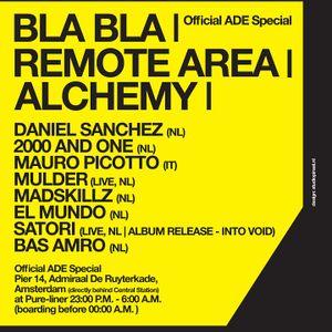 2000 and One Live @ Bla Bla,Remote Area Alchemy (ADE) (22.10.11)