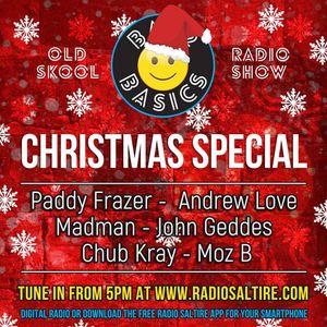 Bac2Basics Xmas Special - Paddy Frazer, Andrew Love, Madman, John Geddes & Moz B Part 2. 17.12.2016