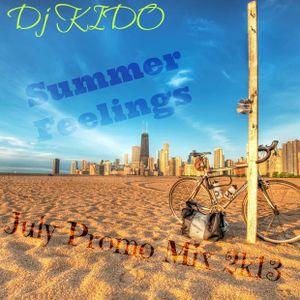 Summer Feelings ( July Promotional Mix 2k13)