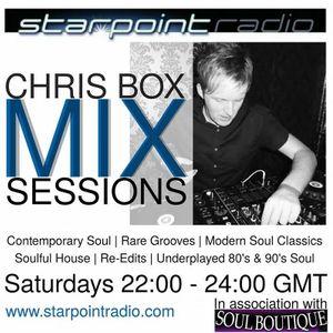 Chris Box Mix Sessions, Starpoint Radio, 17/9/2016 (HOUR 1)