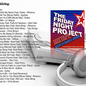 The Friday Night Project 2010 Mixtape