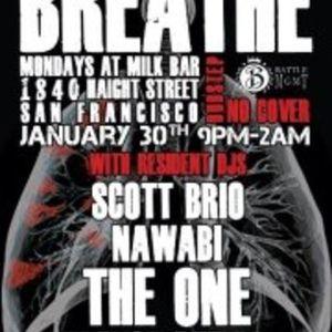 The One LIVE! @ Breathe (San Francisco, CA) 1/30/2012