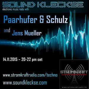 Sound Kleckse Radio Show 0159.2 - Jens Mueller - 14.11.2015