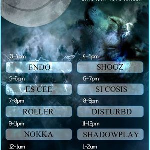 Full Moon Special- The Darkside with DJ Shadowplay Live on onlyoldskool.com 19/03/2016