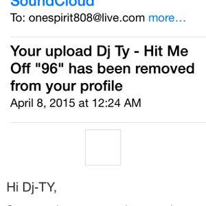 "Dj Ty - Hit Me Off ""96"""