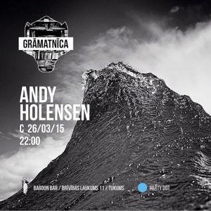 GRĀMATNĪCA ::: Dj ANDY HOLENSEN ::: Live from BaboonBar 26.03.2015