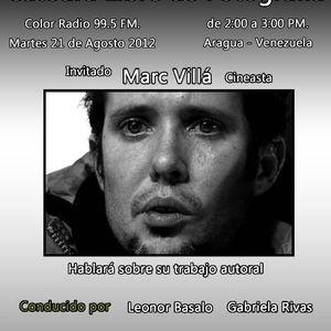 Catedra Libre de Fotografia Programa del 21-08-12 Invitado Marc Villa