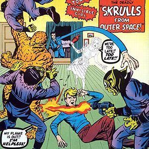 40 - Fantastic Four #2 - The First Appearance of Skrulls