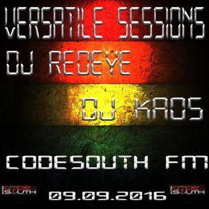 Versatile Sessionz 09/09/2016 - Redeye & Kaos