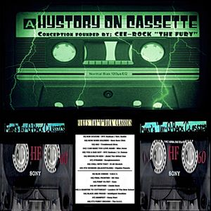 """FURY'S 'TAY-Q-BACK' CLASSICS [Hystory On Cassette] {Conception founded by: Cee-Rock """"The Fury""""}"""