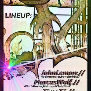 DJ Marcus Wolf Live Radio-Radar darmstadt 02.12.012