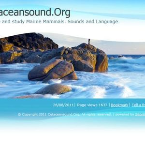 Cetaciansound.org - helping dolphins to avoid hunters and coves!