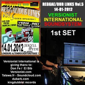REGGAE/DUB LINKS Vol.5 / VERSIONIST INTERNATIONAL SOUNDSYSTEM 1st SET