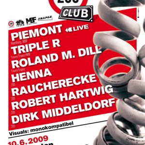 Henna DJ Set June 10, 2009, 200 Club @ Studio 672, Cologne