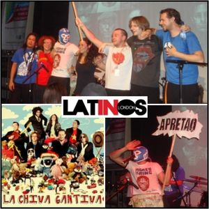 LA CHIVA GANTIVA @ LATINOS IN LONDON RADIO 23/11/10