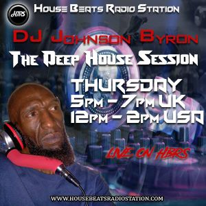 Dj Johnson Byron Presents The Deep House Session Live On HBRS 14 - 03 - 19