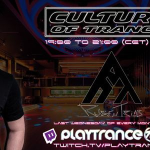 CULTURE of TRANCE (MARCH ´21) with RUBEN TRIAS