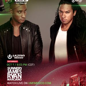 Sunnery James & Ryan Marciano LIVE @ Ultra Music Festival Mexico 2017 Day 2