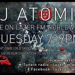 DJ Atomik 2hr Drum & Bass Lazer FM Show 22/03/16