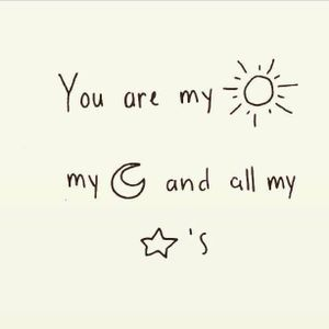 love u to the moon and back