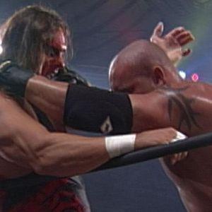 Goldberg vs. Sting / John Cena vs. Rey Mysterio