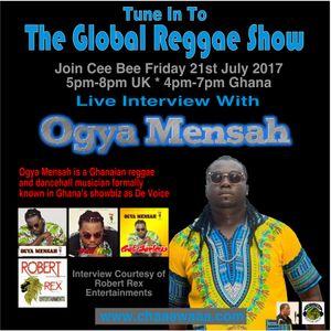 Cee Bee Global Reggae Show 055 21-07-2017