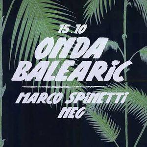 Marco Spinetti b2b Neg - Onda Balearic # 2 @ Dot [15.10.16]