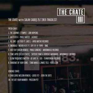 THE CRATE with SALAH SADEQ 25.7.2015