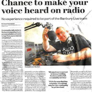 Banbury Matters 23rd March 2015 Alex Kerr