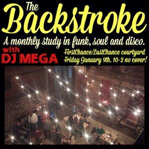 THE BACKSTROKE ON JANUARY 9TH!
