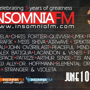 Special Guest Mix: Insomniafm 3 Years Anniversary (June 2012)