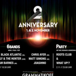 2 Years Grammatikoff - 6 Bands- 01.11.2013 -
