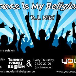 DJ N!ki - Trance Is My Religion Episode 062