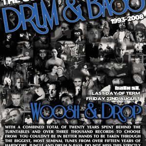 drop b2b Woosh - History of Drum & Bass (1996)