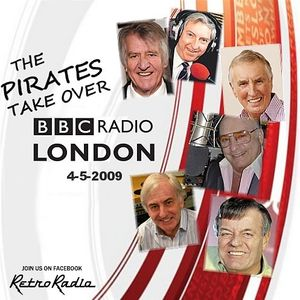 PIRATES TAKE OVER BBC RADIO LONDON - Tony Blackburn - 4-5-2009
