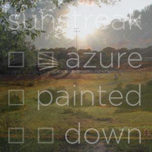Sunstreak Azure Painted Down