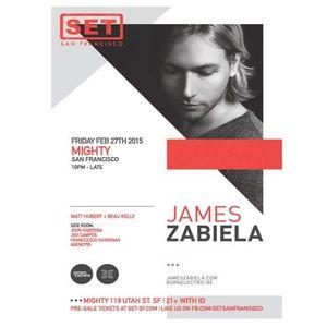 Matt Hubert | March 2015 - Live at Mighty with James Zabiela (2.27.15)