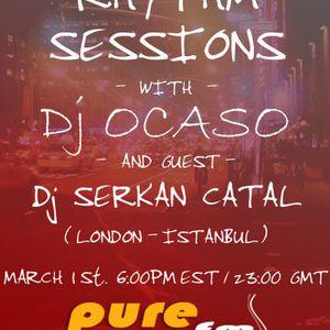 Dj Ocaso - Night Rhythm Sessions 008 [March 1 2011] Part 1 on Pure.Fm