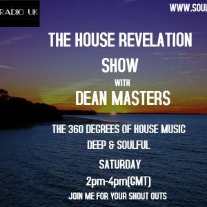 DEAN MASTERS - THE HOUSE REVELATION SHOW - SOULRADIOUK - 06-01-18