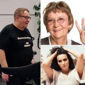 Viihteellä 26.3.2020: Tarjoushaukka Jorma ja rap-mummo Eila. Vieraan valinnassa Sara Siipola