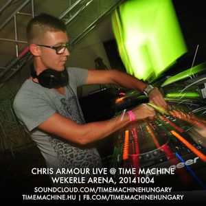 Chris Armour Live @ Time Machine - Wekerle Arena   20141004