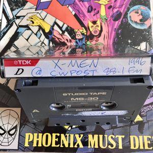 X-Men on 88.1FM WCWP April 1996