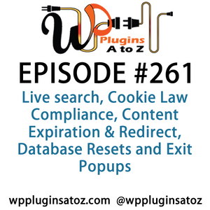 WordPress Plugins A-Z #261 Live search, Cookie Law Compliance - WordPress Plug-ins from A to Z