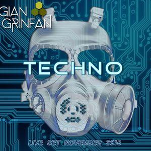 Techno Live Set November 2016