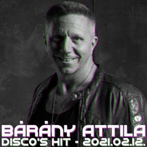 Bárány Attila - Disco's Hit Radio Show - 2020.02.12.