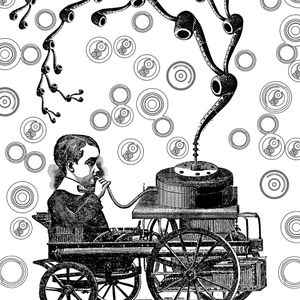 Retro psychedelic trance
