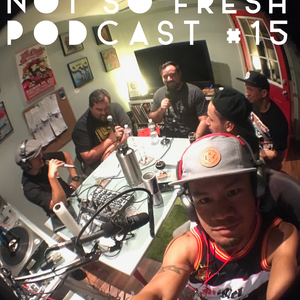 Not So Fresh Podcast #15 Guest Sweetchuck & Existence76 vinyl diggers episode!