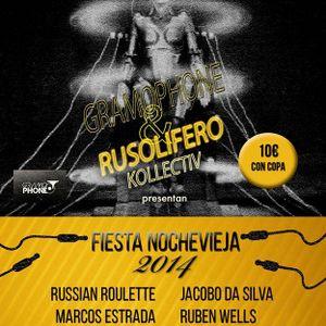 Russian Roulette Live @ Nochevieja 2014, Sweet01. Gijón, Asturias